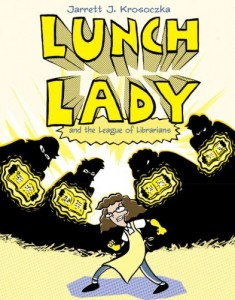 18b - lunch lady and the league of librarians
